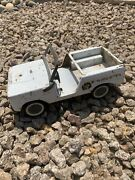 Rare Vintage Nylint Ford Bronco Metal Police Vehicle Car Truck Toy Made In Usa