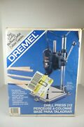 Vintage Dremel Drill Press 212 Moto-tool Portable Stand New In Unopened Box