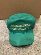 Official Trump Green St Patrickandrsquos Paddys 2018 Rare Hat Make America Great Again