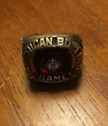 Vintage 10k Yellow Gold Abc American Bowling Congress Ring Size 7 1988