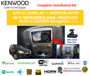 Kenwood Dnx9190dabs Stereo Upgrade To Suit Ford Escape 2006-2012