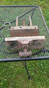 Vintage Under Bench Wood Working Vise 10 Inches