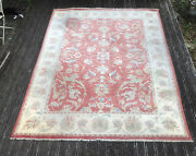 10andrsquo X 8andrsquo Hand Knotted Woollen Ziegler Rug 100 Hand Knotted In Pakistan