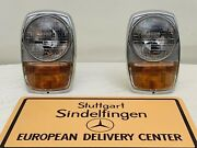 Headlight Assembly Pair Rare Genuine Mercedes Benz W114 W115 Coupe Usa Version