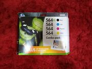 Hp 564xl Black And 564 Color Ink Cartridges Combo Pack Exp 2017
