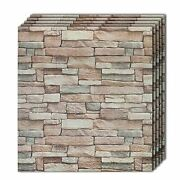 3d Wall Panel Faux Stone Wall Design Farmhouse Pack 10 Natural Granite Stone