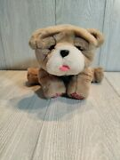 Little Live Pets My Kissing Puppy Rollie Toy Plush Fuzzy Brown Dog 25+ Sounds