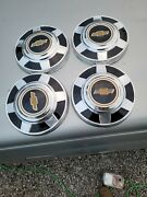 4-1973 To 1987 Chevy 3/4 And1 Ton 12 Dog Dish Hubcapand039s