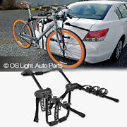 Bike Rack Carrier Trunk Mount 3 Bicycle Holder Car Attachment Storage For Honda
