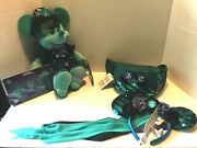 Disney Minnie Mouse Main Attraction Haunted Mansion Lot Plush Pins Pack Headband