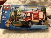 Lego City 4208 4x4 Fire Truck Brand New Sealed Retired 2012