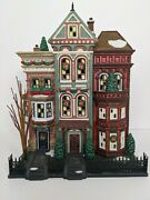 Department 56 Retired Christmas In The City East Village Row Houses Dept 56