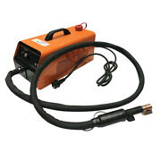 Water Cooled 3.5kw Induction Heater Comes With 1 Side Coil Mobile Unit