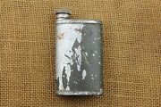Finnish Mosin Nagant Large Square Oil Can Sk.y Civil Guard Marked.