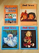 Ufdc Doll News Magazine Lot 1989 Spring And 1990 Summer Fall + Enchanted World