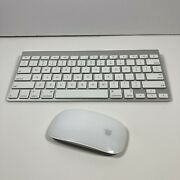 Apple Wireless Keyboard A1314 And Magic Mouse A1296 Combo