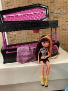 Monster High Draculaura Coffin Bed Dead Tired Jewelry Box W Doll No Accessories