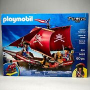 Playmobil Soldiers' Patrol Boat 5683 60pc Pirate Figures - Retired