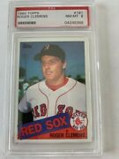 1985 Topps Roger Clemens Psa 8 Nm-mt Rookie Card 181andnbsp