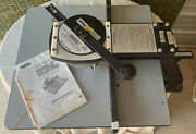 Fletcher Professional Circle And Oval Glass And Mat Cutting System Model 1100