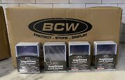 1000 Case Of Bcw White Border Top Loaders 3 X 4 Baseball Card