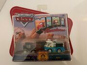 Disney Pixar The World Of Cars 1 Mini Adventures Lizzie And Red Radiator Springs