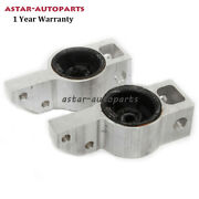 Front Left And Right Control Arm Bushing And Bracket Fit For Audi A3 Vw Eos Golf Gti