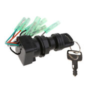 Key Switch Ignition Fit For For Suzuki Outboard Engine Moto Parts 37110-92e01