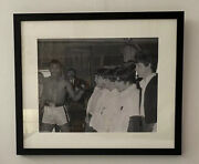 Muhammad Ali And The Beatles 1964 Photograph Limited Edition Tony Dale