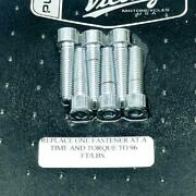 Victory Motorcycles 2875264 Oem Nors Sealed 6pc Chrome Cam Cover Bolt Set Nos