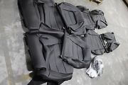 2021 Ford Mustang Standard Seat Coupe Stock Interior-blk Leather Fits 2015-2021