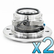 [frontqty.2] New Wheel Hub Assembly Replacement For 1995 Gmc K3500 4wd-model