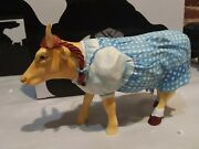 Dorothy Cow 7241 Wizard Of Oz Cows On Parade 2002 W/ Box + Tag
