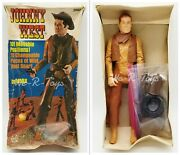 Johnny West Movable Cowboy 11 Action Figure And Accessories Marx Toys No. 2062