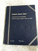 Collection Of 26 Indian Head Cent / Pennies 1863-1909 In Whitman Display Book