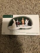 Dept. 56 Christmas In The City Accessory The Life Of The Party Set Of 2 New Nib