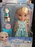 Disney Frozen Little Elsa And Olaf Toys And039r Us Petite Princess Doll Playset