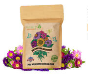 Wildflower Seeds 35 Varieties Of Flower Seed Mix Of Annual And Perennial Non Gmo