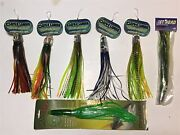 Lot Of 7 Candh Offshore Trolling Lures New In Package