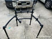 Roland Mds-9 V-drum Rack W/3 Pad Mounts, 1 Ball Mount, And 2 Cymbal Arms - 062121