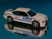 6th Gen 2006andndash2010 Dodge Charger N Y P D Police Car 1/64 Scale Limited Edition N
