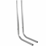Boat Trailer Guide On Poles 1 1/2 Square Aluminum Tubing W/ 1/8 Wall Thickness