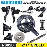 Shimano Ultegra R8000 With R8020 R8070 Hydraulic Disc Brake Groupset 2x11 Speed