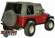 Rampage 68211 Complete Soft Top Kit For 1987-1995 Jeep Wrangler Yj
