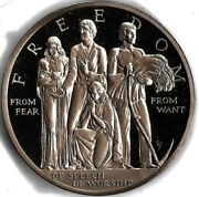 Sculptorand039s Studio 1975 Four Freedoms From Fear From Want 2 Bronze Medal