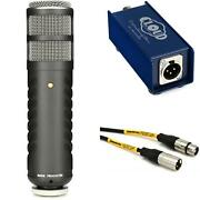 Rode Procaster And Cl-1 Cloudlifter Broadcast Microphone Bundle