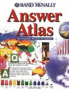 Rand Mcnally Answer Atlas The Geography Resource For Students-excellent