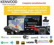 Kenwood Dnx9190dabs For Mercedes C-class 2005-2008 W203 Car Stereo Upgrade