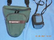 Tamrac Model 515 And Lowepro Ridge 10 Camera Bags For Digital Cameras, Two Peices