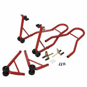 Ironmax Motorcycle Bike Stand Front And Rear Wheel Stand Swingarm Lift Auto Shop